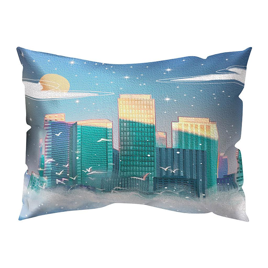 Miyinla Print Pillow Case Polyester Sofa Car Cushion Cover Home Decor 30 X 50cm Buy At A Low Prices On Joom E Commerce Platform