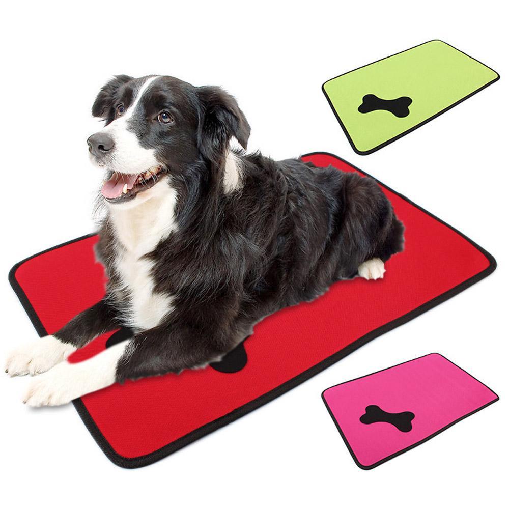 Cajón del perro Jaula Matt masticar Resistente Impermeable Resistente y Durable Cama Colores//Tamaños