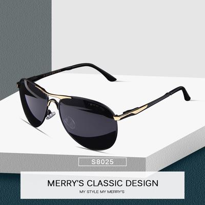 274ed92aea1e7 MERRY S DESIGN Men Classic Pilot Sunglasses Men HD polarized Driving ...
