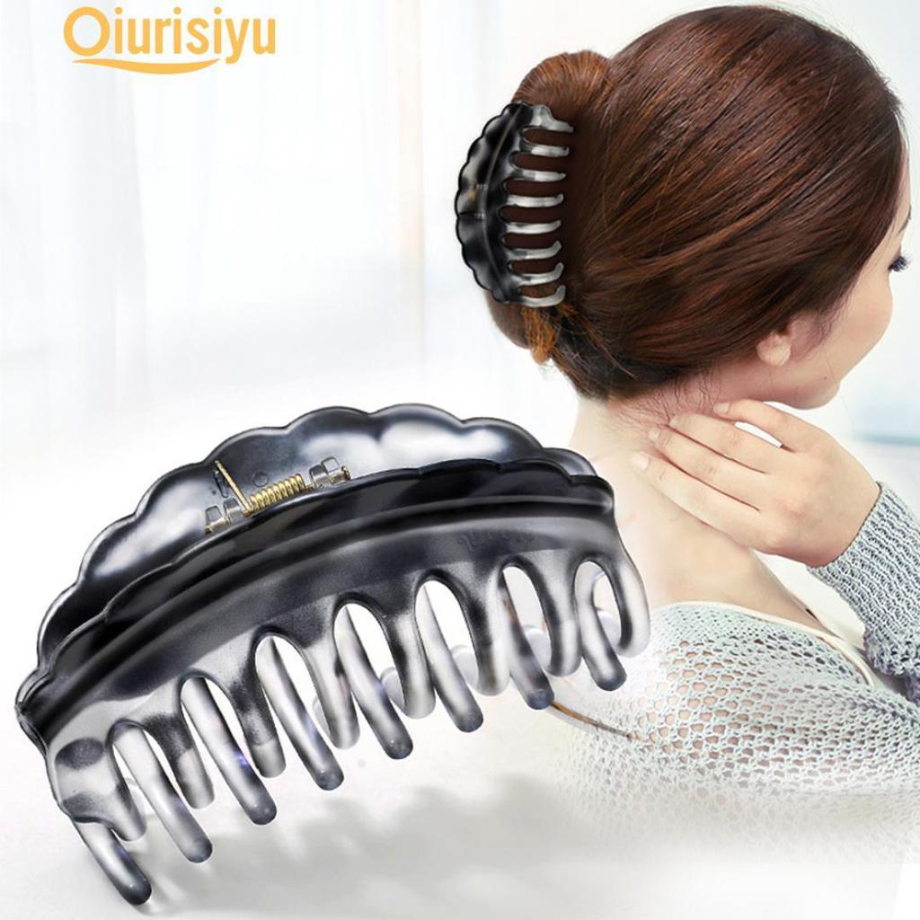 Simple Large Hair Claw Clip Bathroom Updo Decor Headwear Accessories Lates SMART