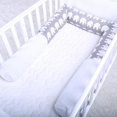 Cotton Thickened Infant Sleep Bed Drop-proof Removable Washing Solid Color Portable Cartoon European Style Mattress Cartoon Online Shop Mother & Kids