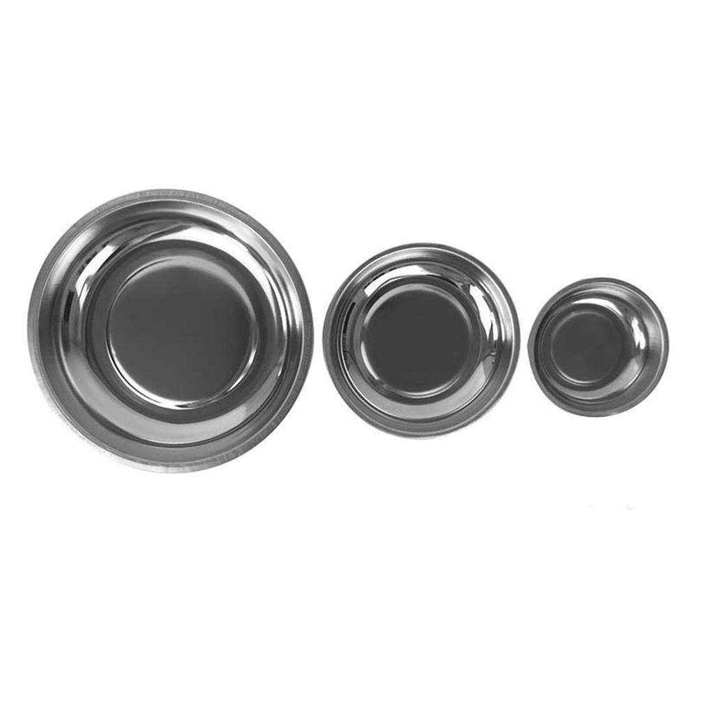 2 Pcs Magnetic Parts Bowl Tool Tray Nuts Bolts Screws Part Holder