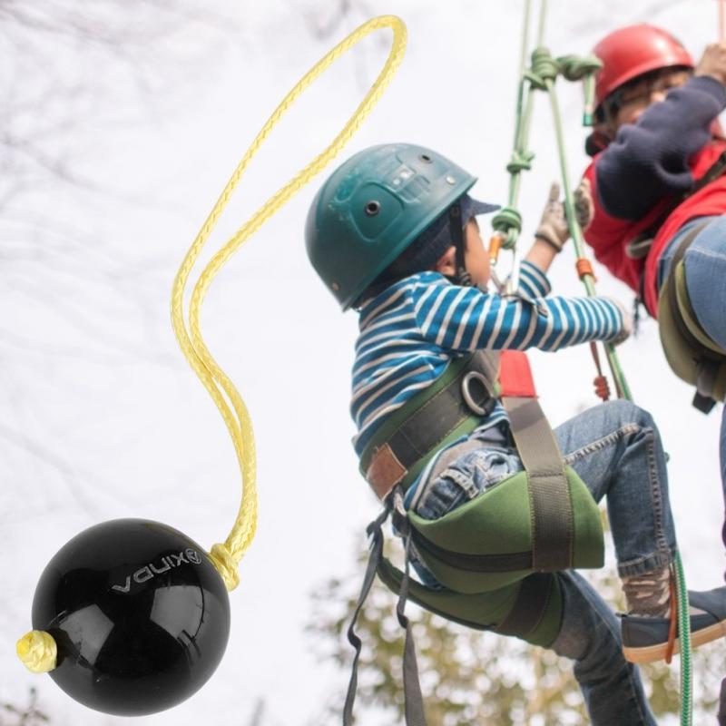 250g Throw Weight Rock Tree Climbing Rope Friction Saver Retriever Ball