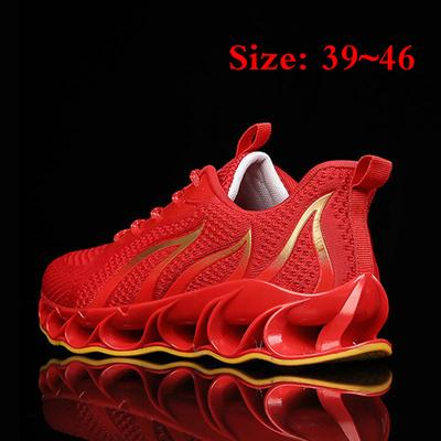 11,Black Mens//Womens Casual Sport Shoes Non-Slip Net Surface Breathable Running Shoes