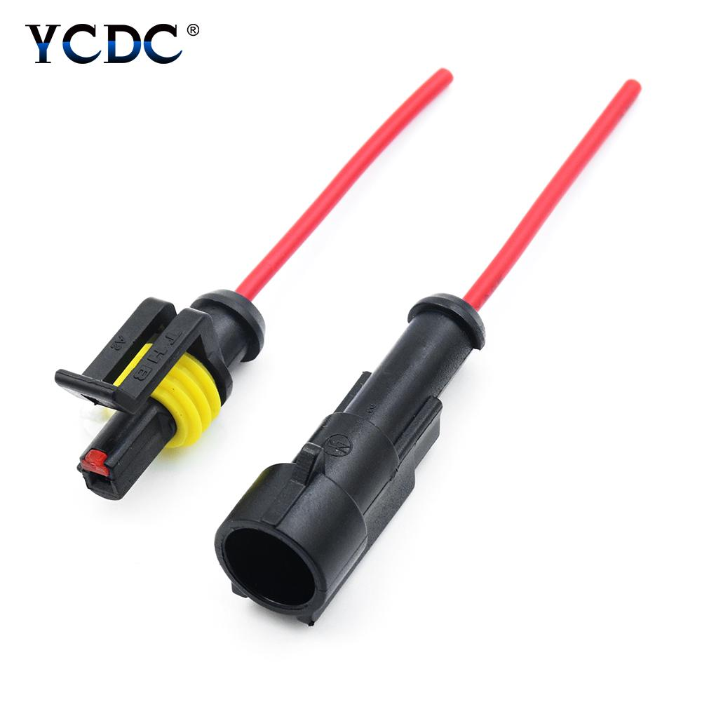 1 2 3 4 5 6 PIN WAY 18 AWG CAR WATERPROOF PLUG CONNECTOR WIRE 2.4MM TERMINAL 11