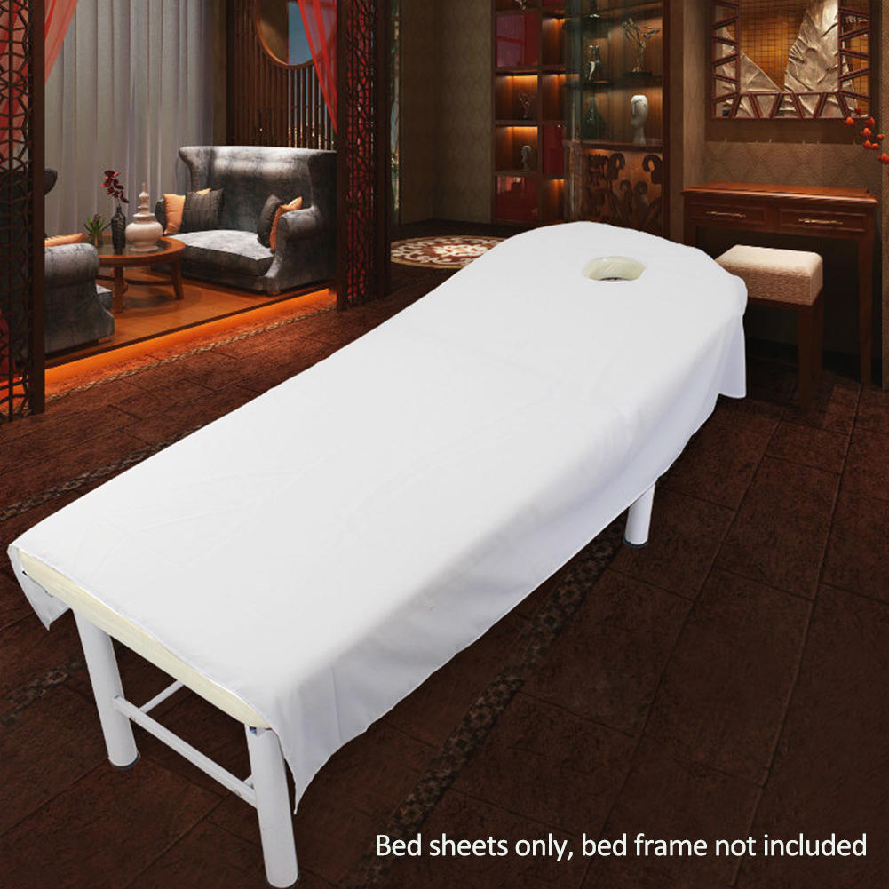 Breath Hole Colors Beauty Massage SPA Bed Table Elastic Cotton Cover Sheet