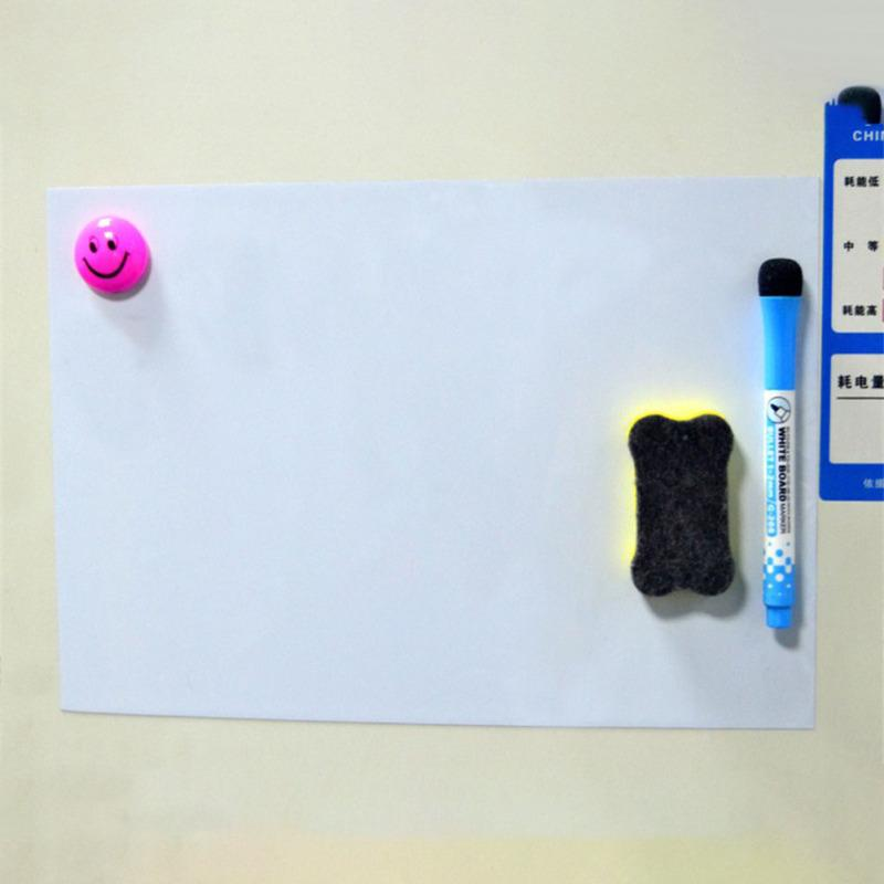 A3//A4 Reminder Fridge Magnetic Whiteboard Family Message Board Office Memo NEW
