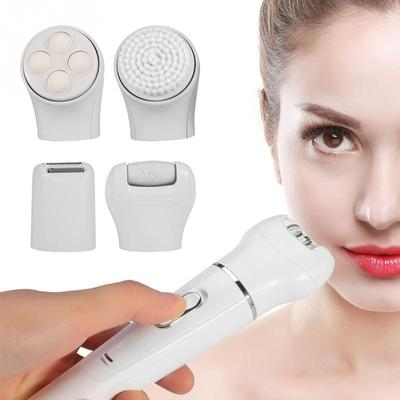 Rechargeable 5 In 1 Women Electric Epilator Facial Hair Removal