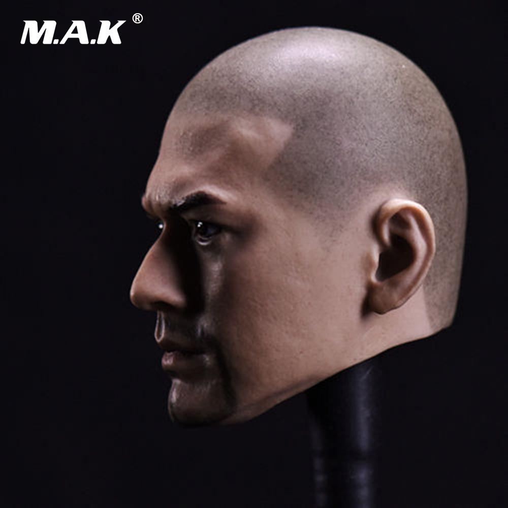 1//6 Asian Male Head Model Takeshi Kaneshiro Head Sculpt Toy Fit 12/'/' Figure