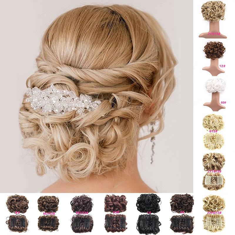 1шт эластичное Комбс фигурные когти волос булочки Шиньон парик женщин пластиковой лентой красоты – купить по низким ценам в интернет-магазине Joom