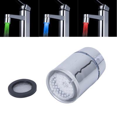 Tri Color Led Temperatur Sensor Spray Wasserhahn Wasserhahn