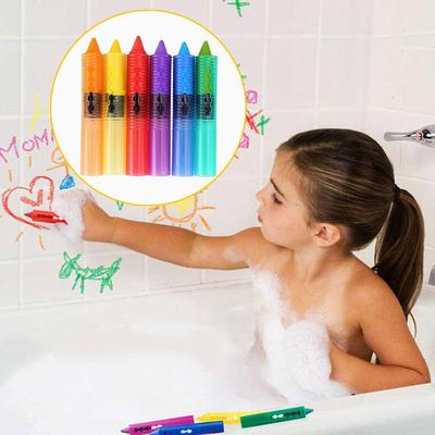 Bath Toys Kids Baby Toddle Washable Bath Crayons Bathtime Play Child Educational