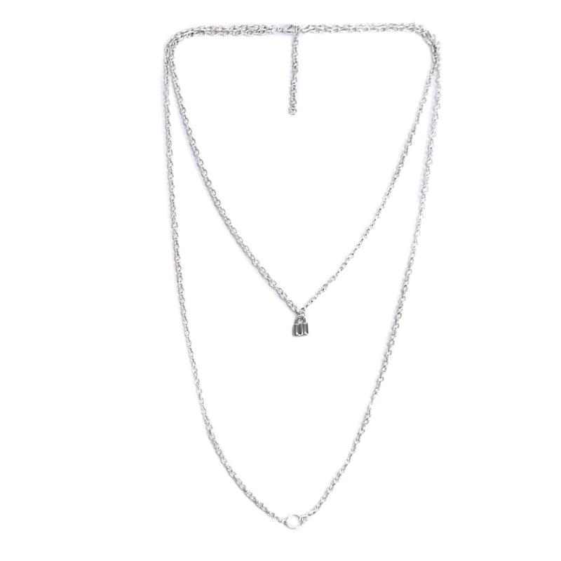 Simple exquisite short clavicle chain necklace chic pendant charms delicate gift