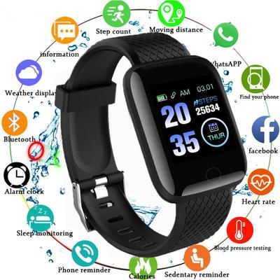 Smart Bracelet Color Screen Heart Rate Blood Pressure Monitoring Track Movement Bluetooth Smart Sports Watch