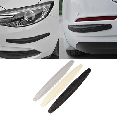 4XBlack Car Door Edge Guards Trim Molding Protection Strip Scratch Protector WT