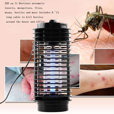US EU Plug LED Electric Mosquito Fly Insect Killer Kills Catch Trap Light Indoor