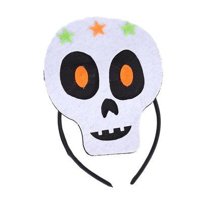 Traje de Halloween los niños diadema calavera pelo aro casco para ...