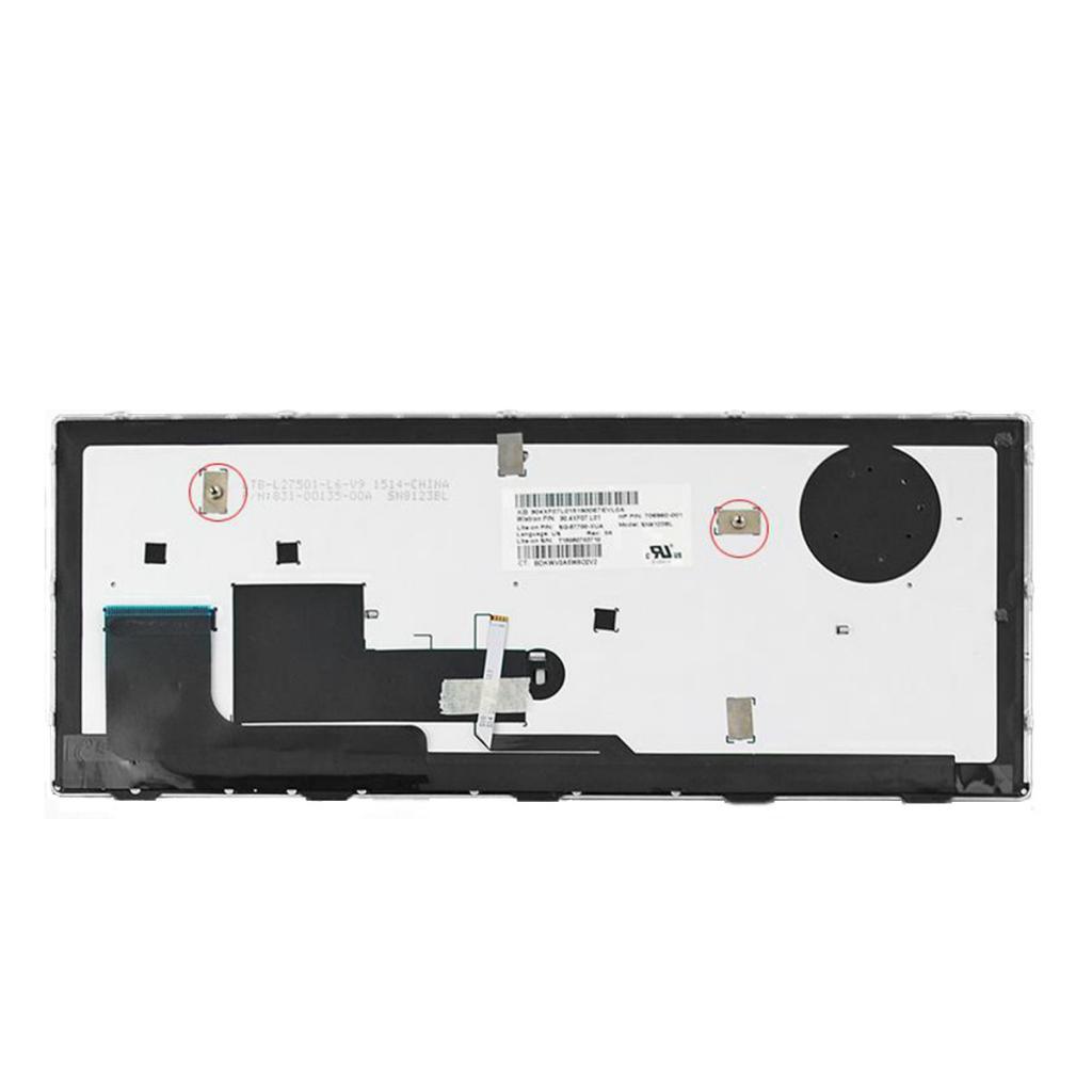 New Backlit US Keyboard For HP EliteBook Revolve 810 G1 G2 G3 w// Backlit