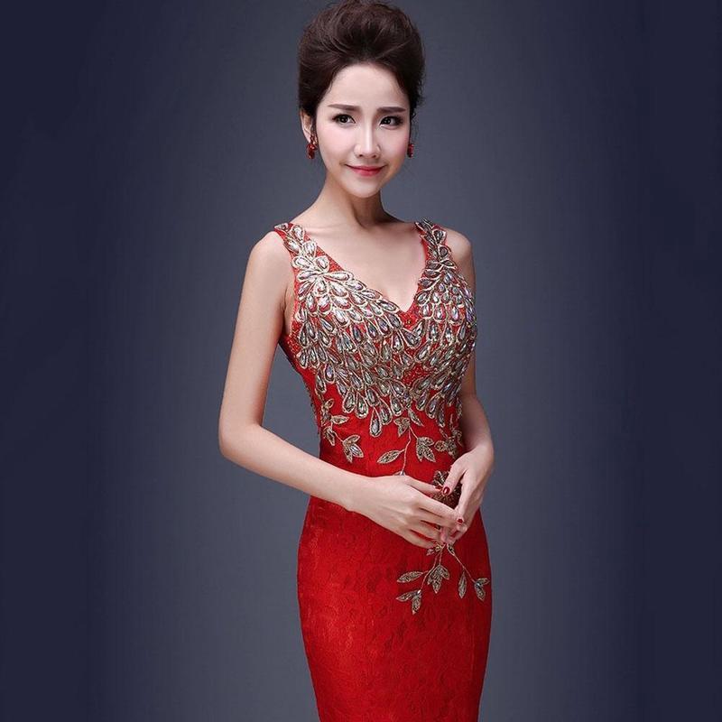Fantástico Vestidos De Asia Baratas De La Boda Inspiración - Vestido ...