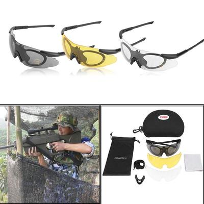 410fef9225 Multi-function Plastic Comfortable HD Lens Cycling Shooting Polarized Army  Sunglasses For Motorcycle