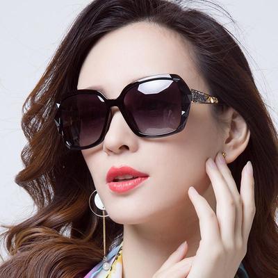 Femmes Lunettes de soleil noir fleur rétro Cat Eye oversize femme Fashion Lunettes de soleil