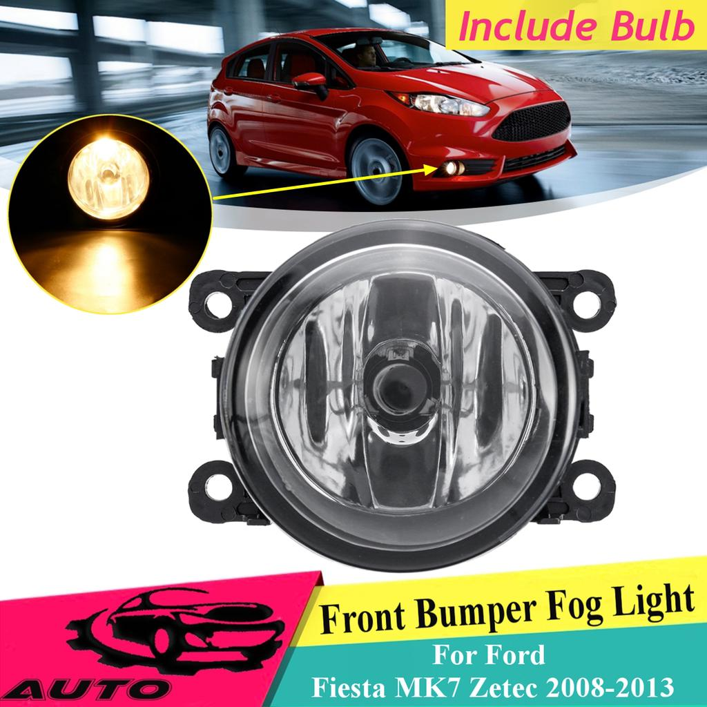 DRL Front Fog Light Lamp LED Angle Eyes Grill for Ford Focus MK2 Sedan 2004-2006