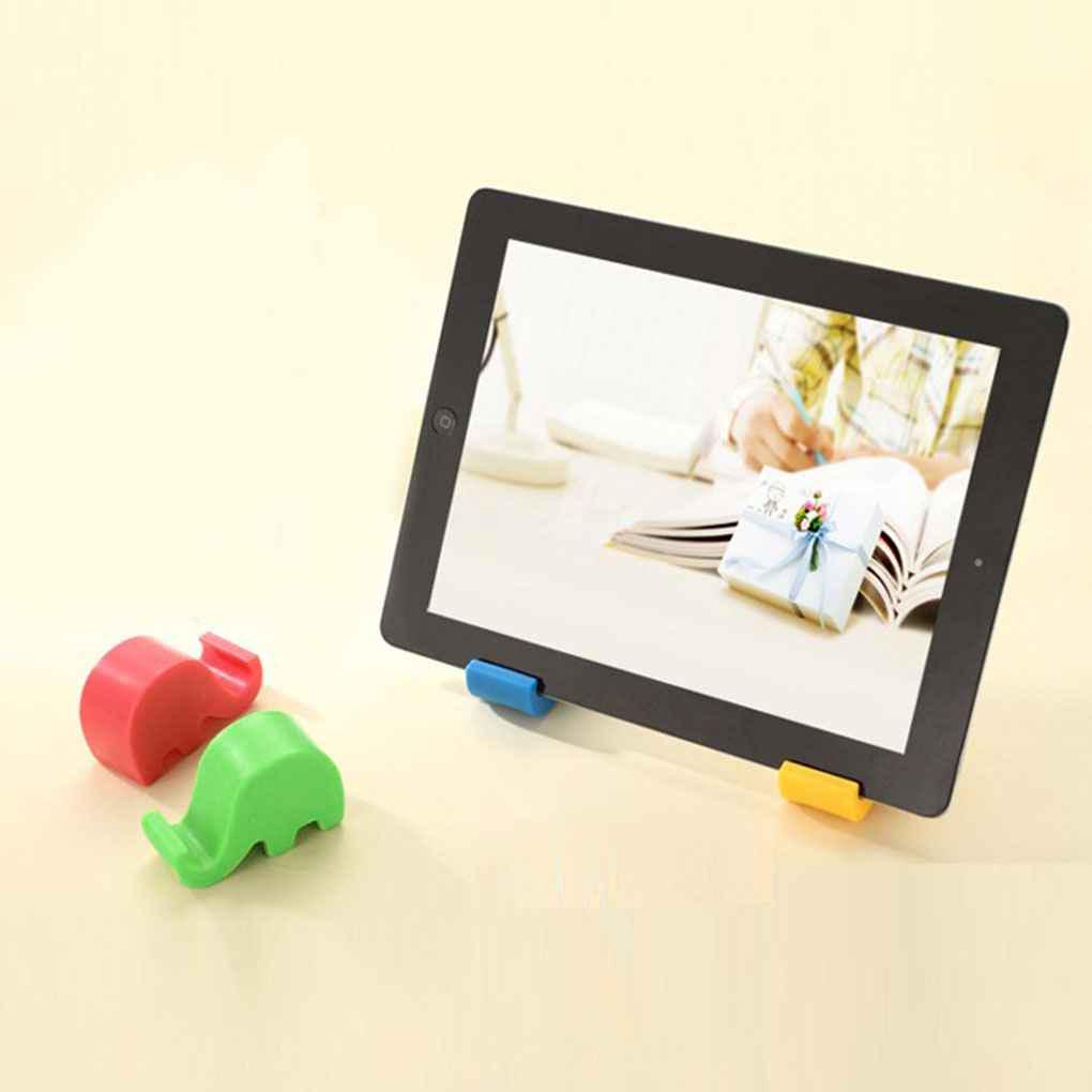 Мини-слон стол стол горе стоять держатель телефона для ячейки мобильного телефона таблетки Elenxs Tools
