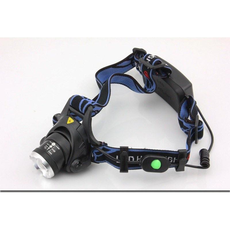 Waterproof Headtorch Headlight XPE+COB LED USB Rechargeable Sensor Headlamp KS