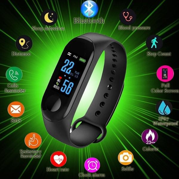 Фото - M Bluetooth Смарт-часы сердцеесть Фитнес-трекер Смарт Браслет Браслет браслет для IOS Android наматрасник dimax аква смарт протекшн плюс 200x200