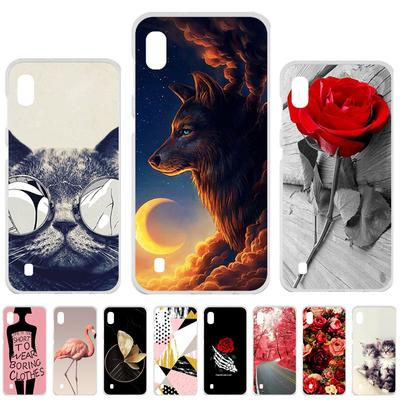 Soaptree Soft Painted Case for Samsung A10 Case for Samsung Galaxy A10 A105 A105F SM-A105F Cover