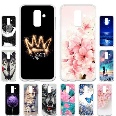 Akabeila Cases for Samsung Galaxy A6 Plus Samsung Galaxy A6 2018 A6+ Cover Painted Case Phone Bag