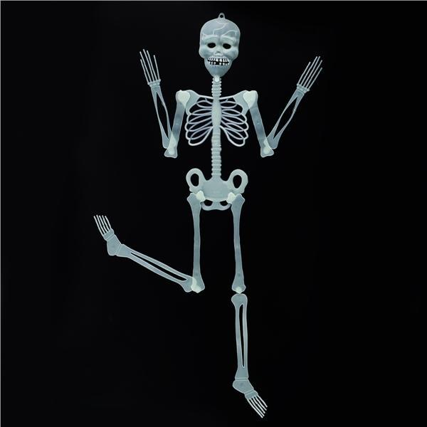 New 90cm Real Life Sizes Props Human Skeleton Bones Terror Scary Hanging Decor