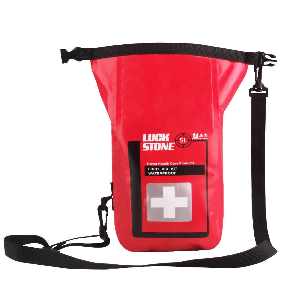 4x Waterproof 5L First Aid Emergency Kit Dry Bag Sack Travel Camping Storage
