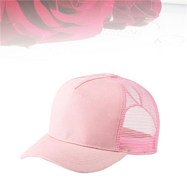 Summer Ponytail Baseball Cap Adjustable Breathable mesh Cap Sequins Snapback Outdoor Sports Women Sun hat