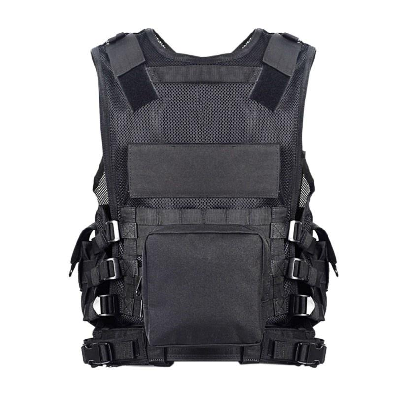Anti Stab Security Vest Outdoor Protective Tactical Vest Military Training Gilet Equipment for Safety
