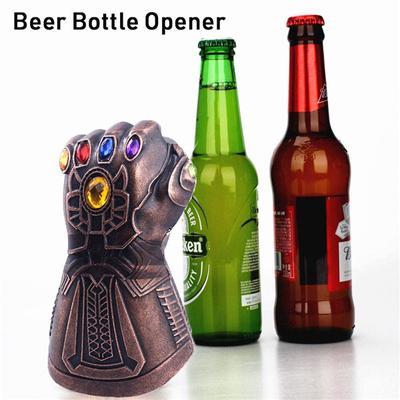 US Thanos Glove Bottle Beer Opener Glass Caps Avenger Infinity War Remover Tool