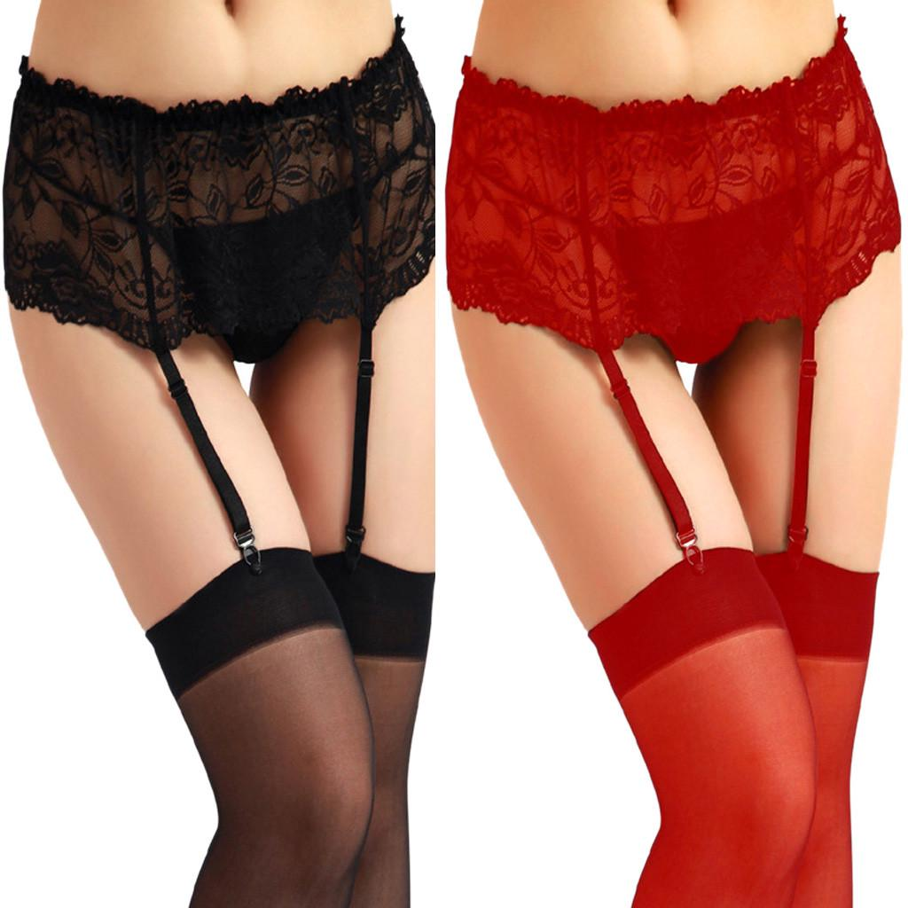 ff516c494 Sexy Women Lace Garter Belt Lingerie Stocking Underwear Babydoll ...