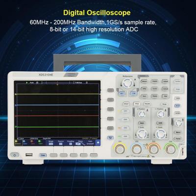 OWON XDS3104E 100MHz 4CH 8 Bits Touchscreen Low Noise