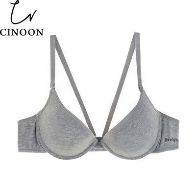 d2e9ee9d92 CINOON Fashion Cotton Brassiere Women Bralette Push Up bra Underwear Sexy  Lingerie bras for women