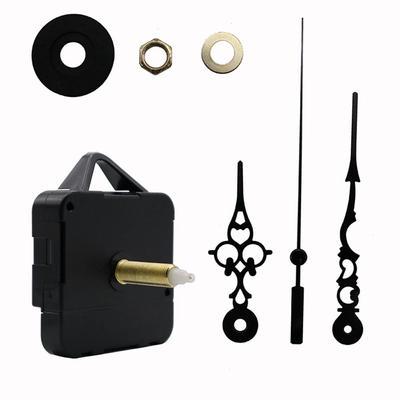 Maijiabao 1 Set New Black DIY Clock Accessories HR1688 Long Axis Wall Clock Movement Kit
