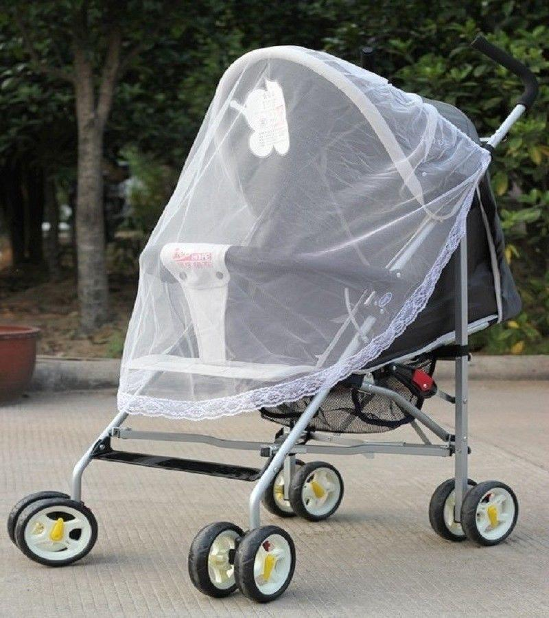 Universal Mosquito fly insect sun dust protect cover net mesh Pram Stroller