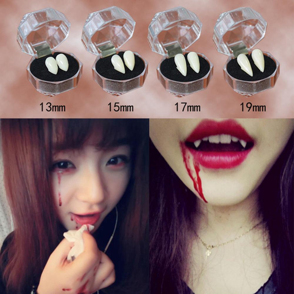 Halloween Cosplay Vampire Fangs Werewolf Teeth Fancy Dress-Costume Tooth Handy