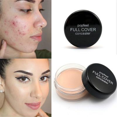 -Base Concealer Cream Face Cover Blemish Hide Dark Spot Blemish Eye Lip Contour Liquid Foundation