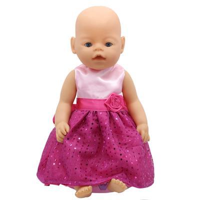 5b6d0b996 Doll Accessories Doll Dress Clothes fit 43cm Baby Doll Clothes and 18 inch Doll  Accessories