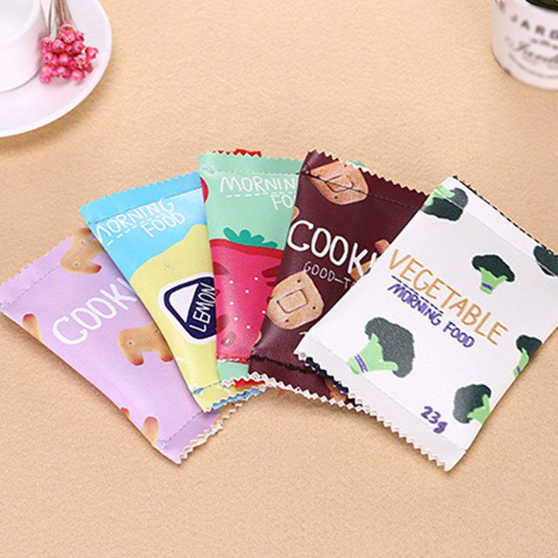 Vegetable Print Kids Coin Purse Mini Portable Women Zip Wallet Pouch Bag Shan