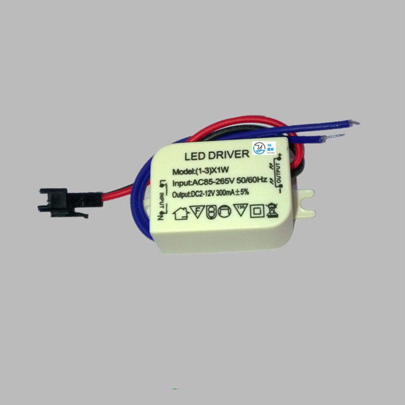 3W 5W 7W 15W 24W 300mA Dimmable LED Power Driver 300mA for High power CHIP LED