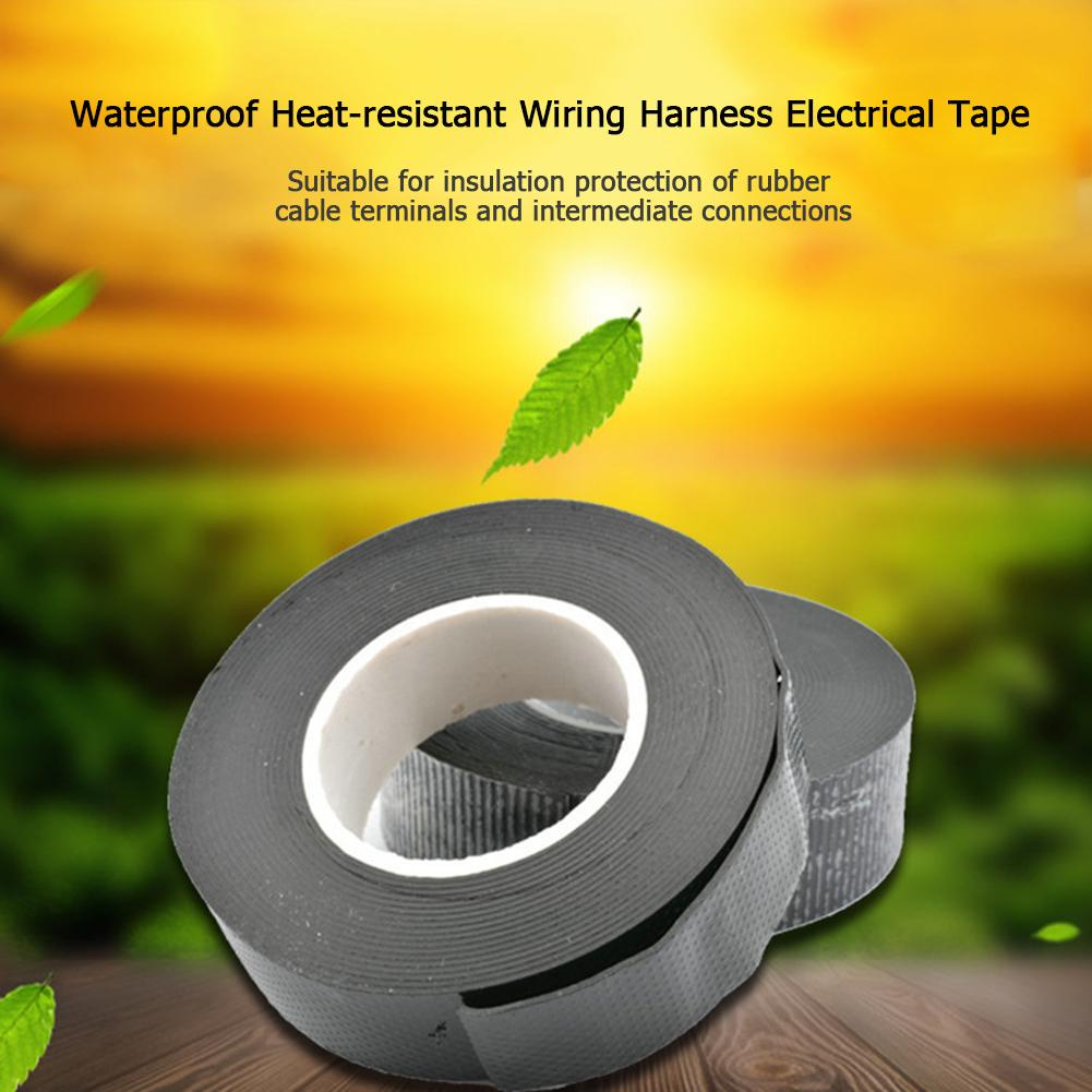 Waterproof Heat Resistant Wiring Electrical Tape Adhesive Cable Protection Buy At A Low Prices On Joom E Commerce Platform
