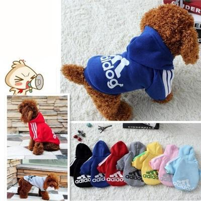 Fashion Pet Large Dogs Clothes Hoodie Coat Jumpsuit Sweater