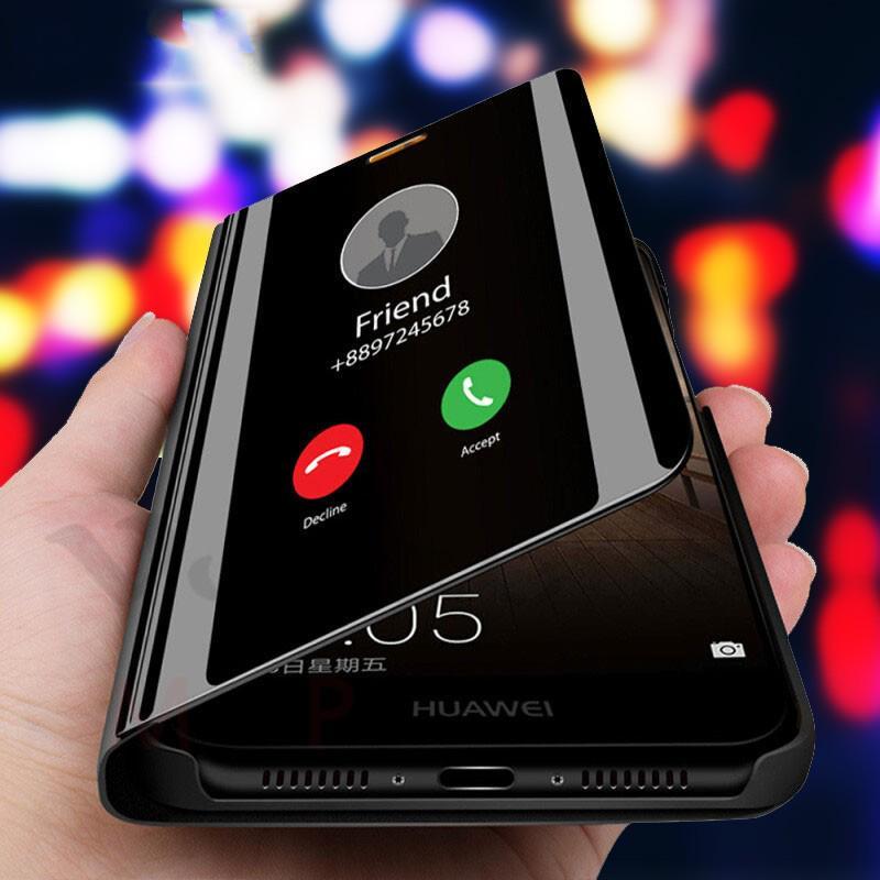 Для Huawei P30 Lite Samsung A70 M30 A9s A8s S10 плюс роскошные зеркала покрытие полный защитник телефон дело