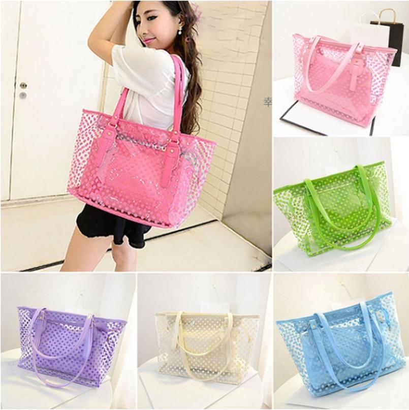 2Pcs Casual Tote Bag Women Messenger Shoulder Crossbody Bags Handbag And Purse